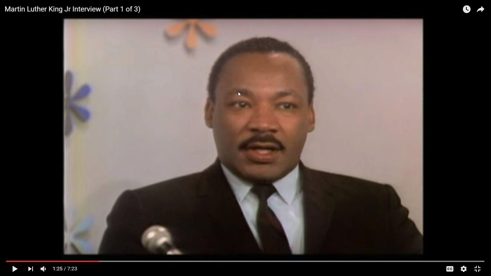 Body Language - Martin Luther King Jr.