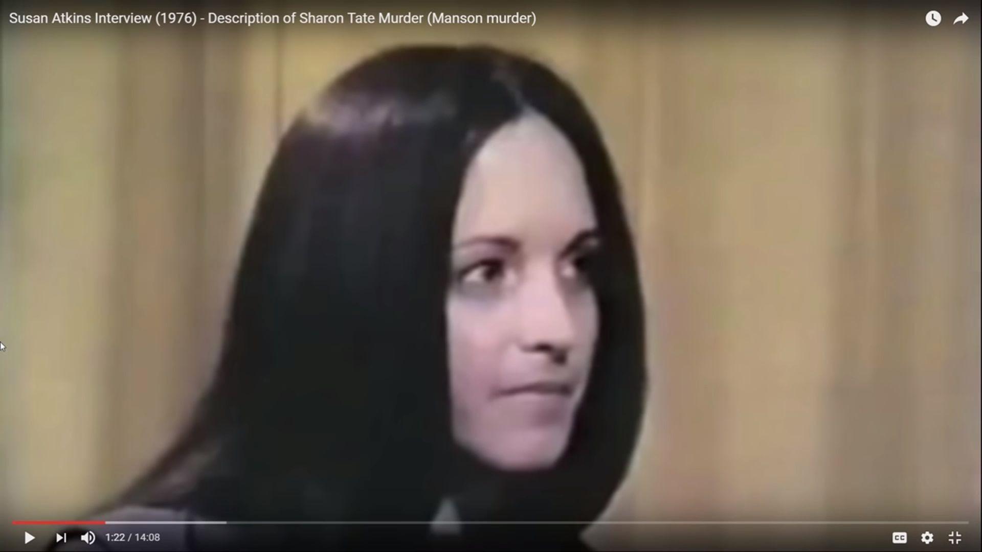 Body Language - Sharon Tate Murder - Susan Atkins