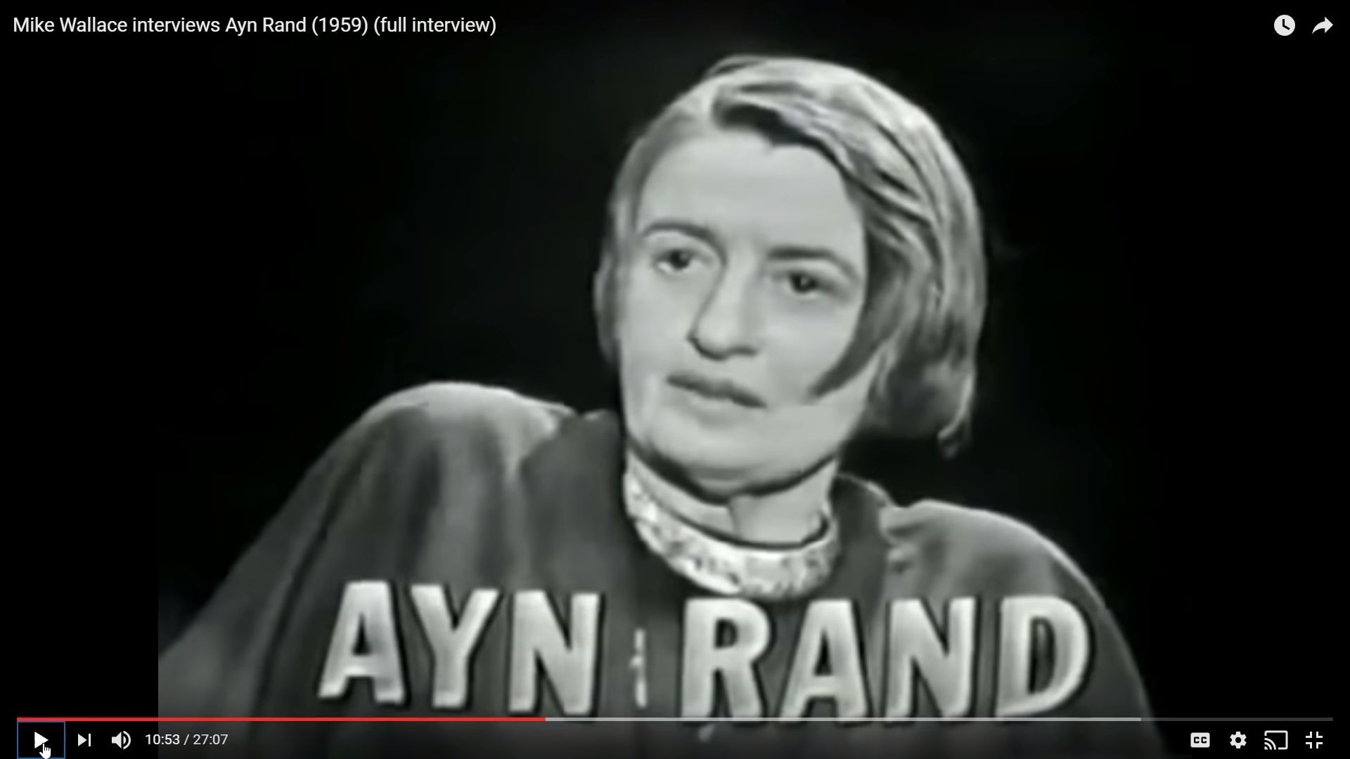 Body Language - Ayn Rand