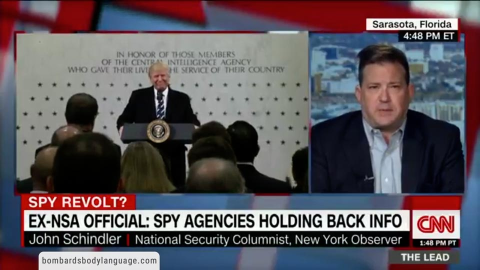 Body Language - Spy Agencies withholding Intelligence from Trump Administration