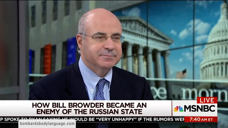 Body Language - Bill Browder, Putin's No.1 Enemy