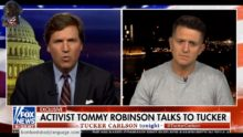 Body Language – Tommy Robinson PTSD On Tucker Carlson