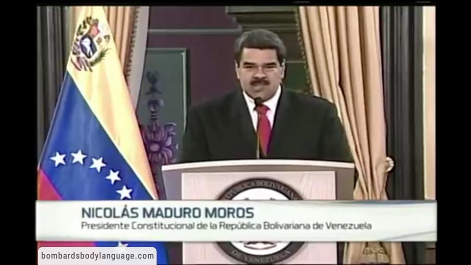 Body Language - Venezuela's Nicolás Maduro Assassination Attempt Speech