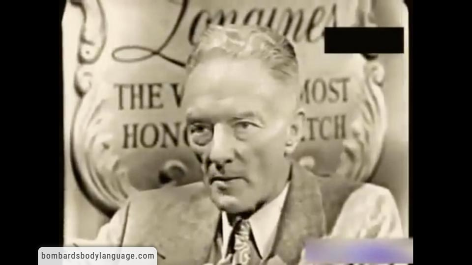 Body Language - Admiral Byrd Flat Earth Request