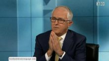 Body Language – Malcolm Turnbull Drought, Global Warming & $443m Reef Grant