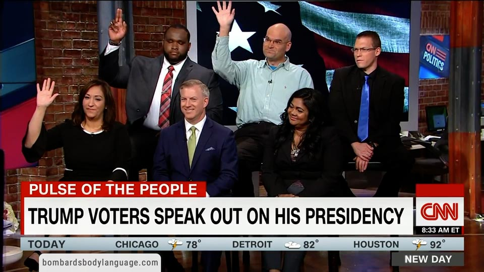 Body Language - CNN - Pulse Of The People