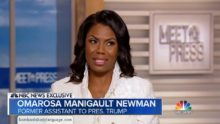 Body Language – Omarosa On Meet The Press