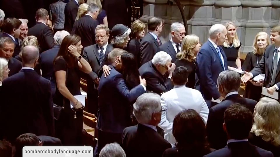 Body Language - McCain Funeral, Huma Abedin, Lindsey Graham & The Gang