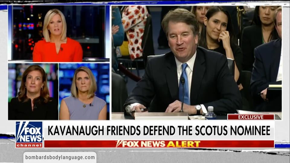 Body Language - Brett Kavanaugh Ex Girlfriends Character Testimony
