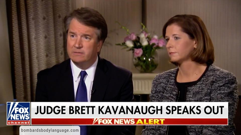 Body Language - Brett Kavanaugh Fox News Interview