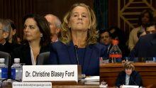 Body Language – Brett Kavanaugh Hearing Accuser Dr Christine Blasey Ford