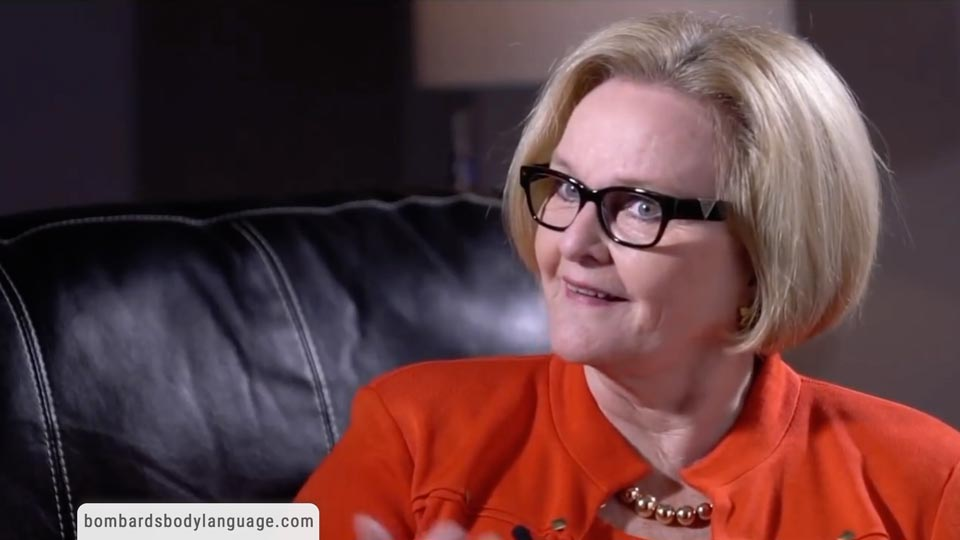 Body Language - Senator Claire McCaskill Response to Project Veritas Footage