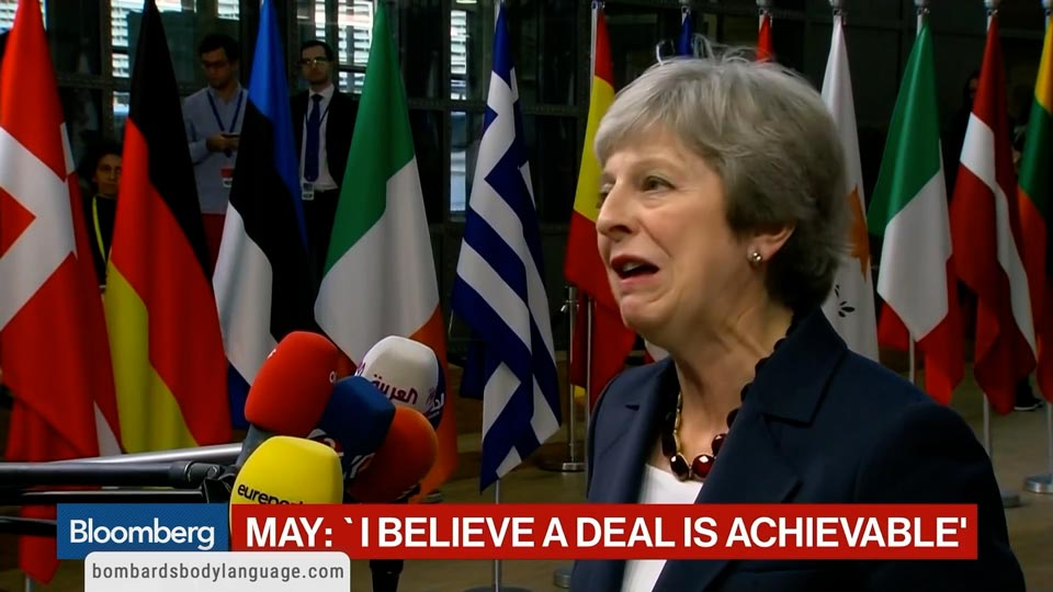 Body Language - Theresa May Brexit Interview with NPC Media