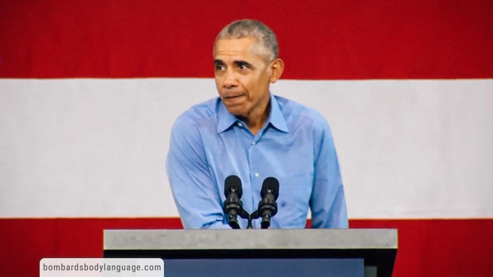 Body Language - Barrack Obama Midterm Campaign