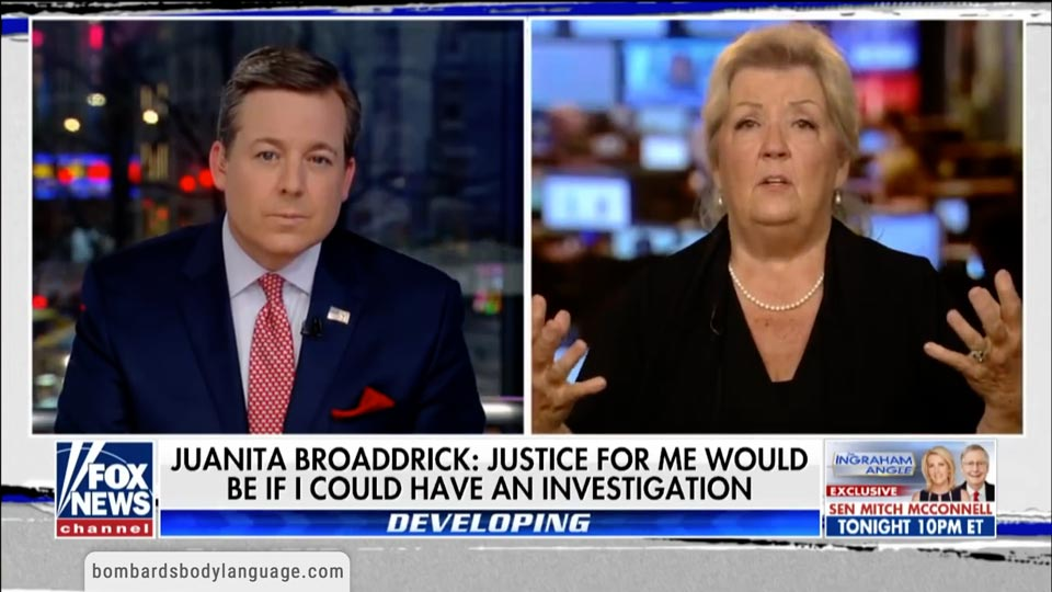 Body Language - Juanita Broaddrick's Clinton's Assault