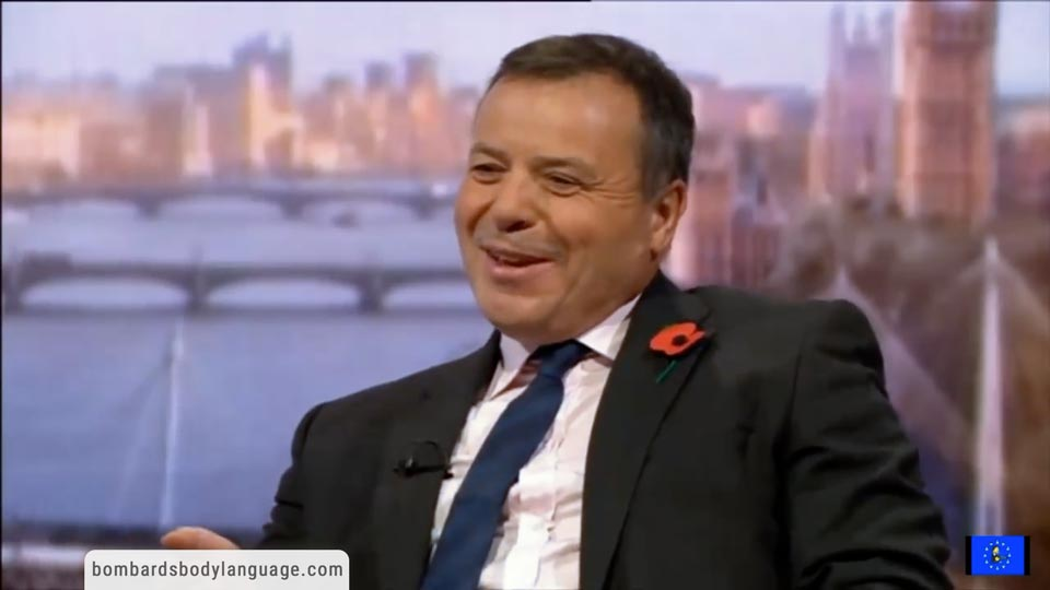 Body Language - Brexit Arron Banks Russian Donation Allegations