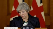 Body Language – Theresa May's Brexit statement from Downing Street