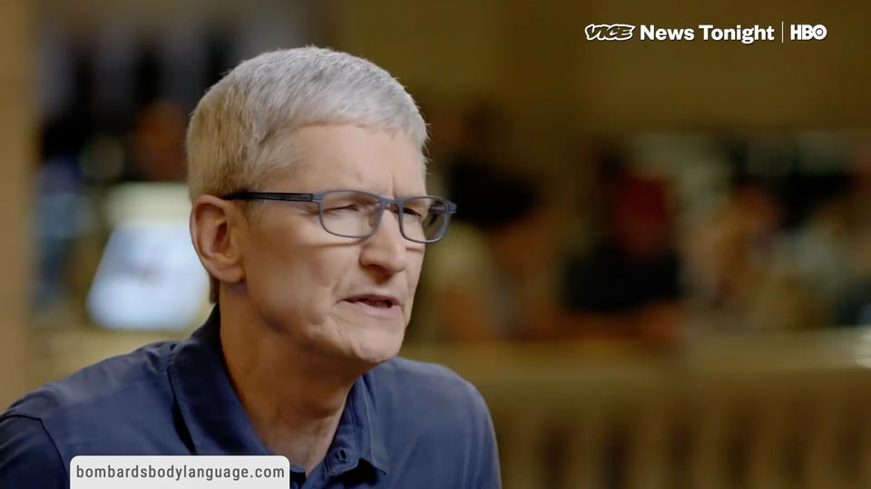 Body Language - Apple CEO Tim Cook User Privacy Vs Big Data