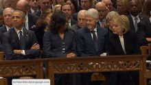 Body Language – The Bush Sr Funeral