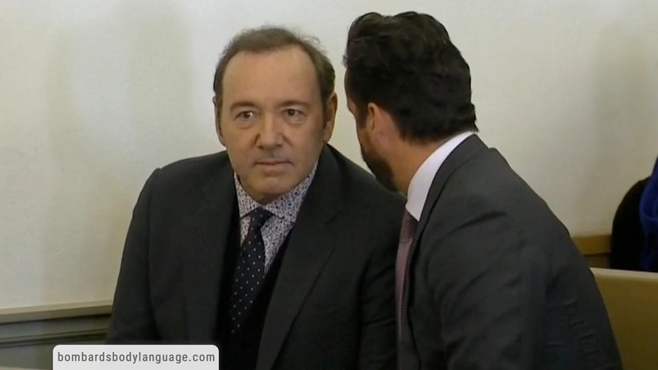 Body Language - Kevin Spacey In Courtroom