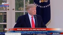 Body Language – Donald Trump Deal To End Shutdown