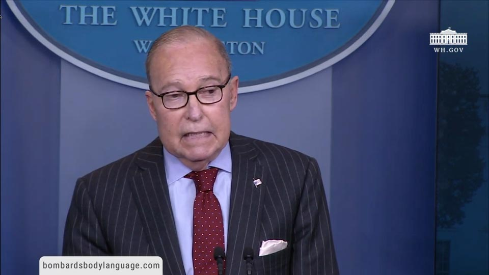 Body Language - Economic Director Larry Kudlow