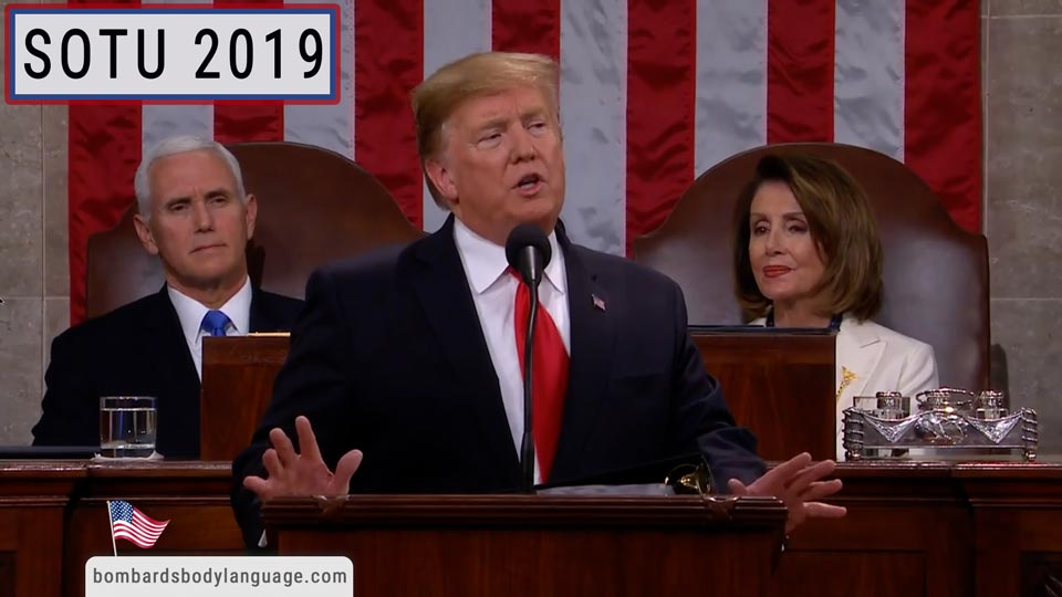 Body Language - State Of The Union SOTU 2019