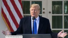 Body Language – Trump Declaring National Emergency for Border Wall