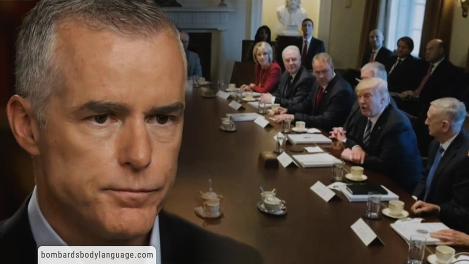 Body Language - McCabe & Rosenstein The Plan to Remove President Trump