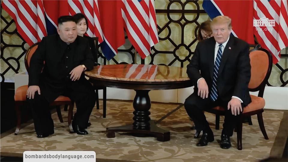 Body Language - Donald Trump Kim Jong-un Vietnam Summit