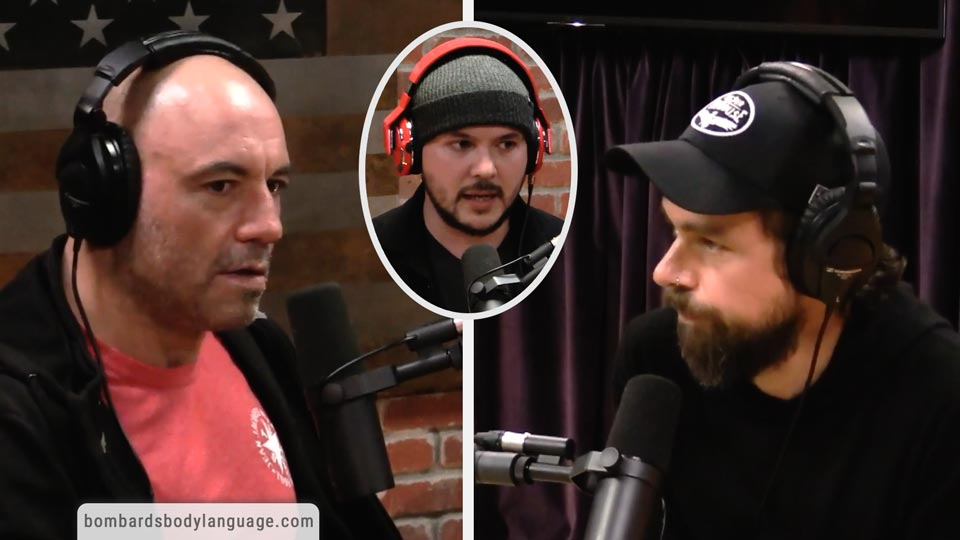 Body Language - Joe Rogan, Timcast, Jack Dorsey & Lawyer