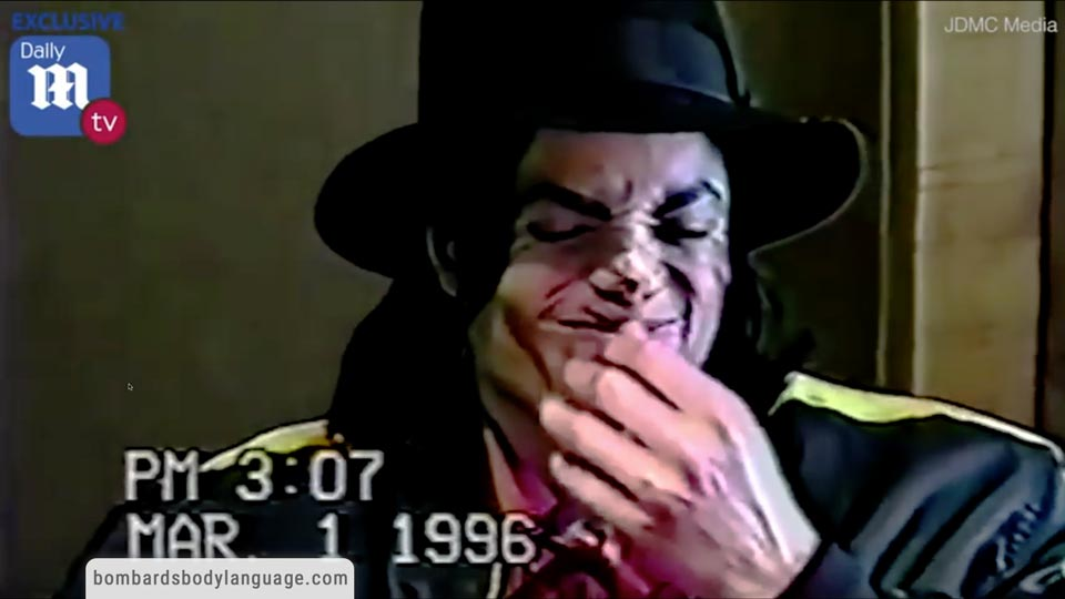 Body Language - Michael Jackson Police Interview