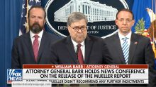 Body Language – Catatonic Rosenstein at William Barr Press Conference