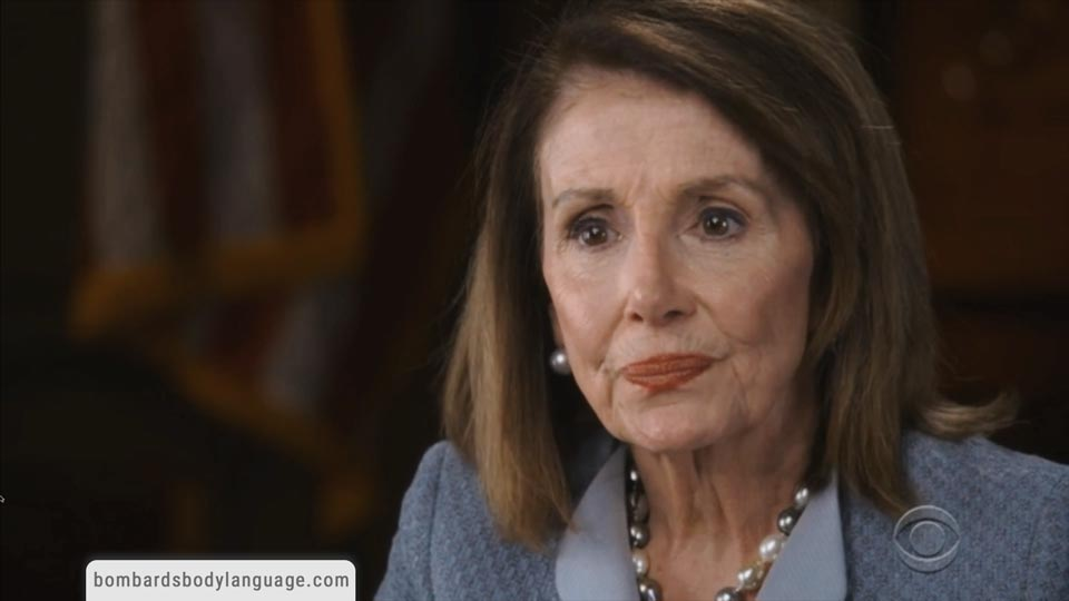 Body Language - Nancy Pelosi House Speaker