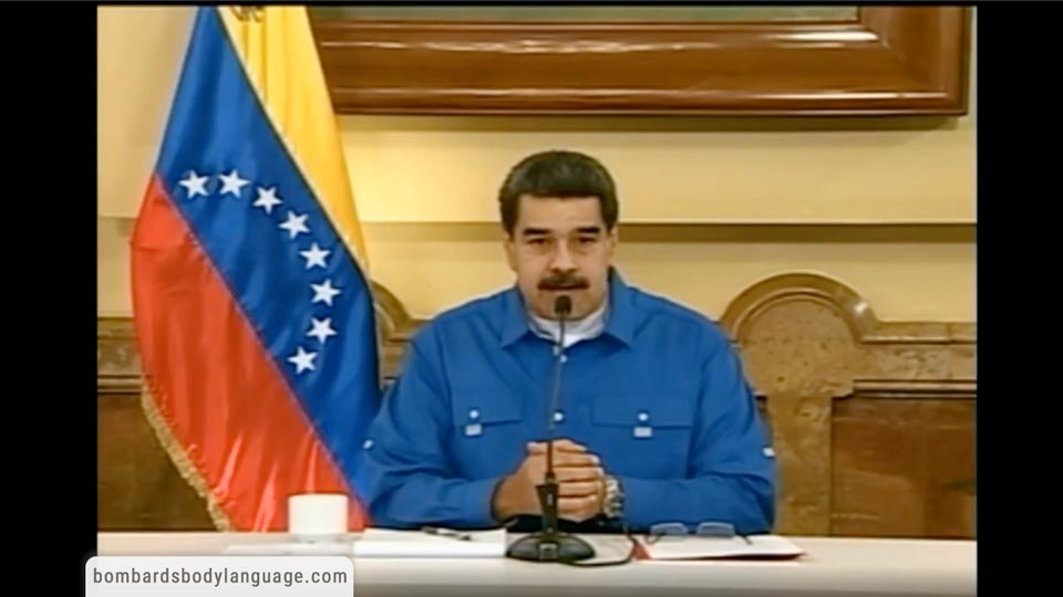 Body Language - Nicolás Maduro Response To Coup