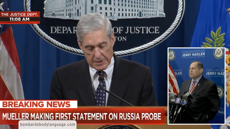 Body Language - Mueller & Nadler Press Conference