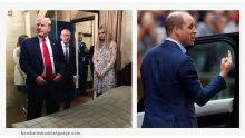 Body Language – Pictures of Trump, Ivanka & Prince William