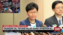 Body Language – Carrie Lam Extradition Protest Hong Kong