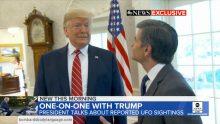 Body Language – Trump On UFO's