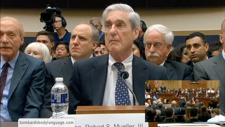 Body Language - Jim Jordan Vs Bob Mueller Congress