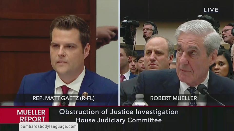 Body Language - Matt Gaetz, Gohmert, McClintock Vs Mueller