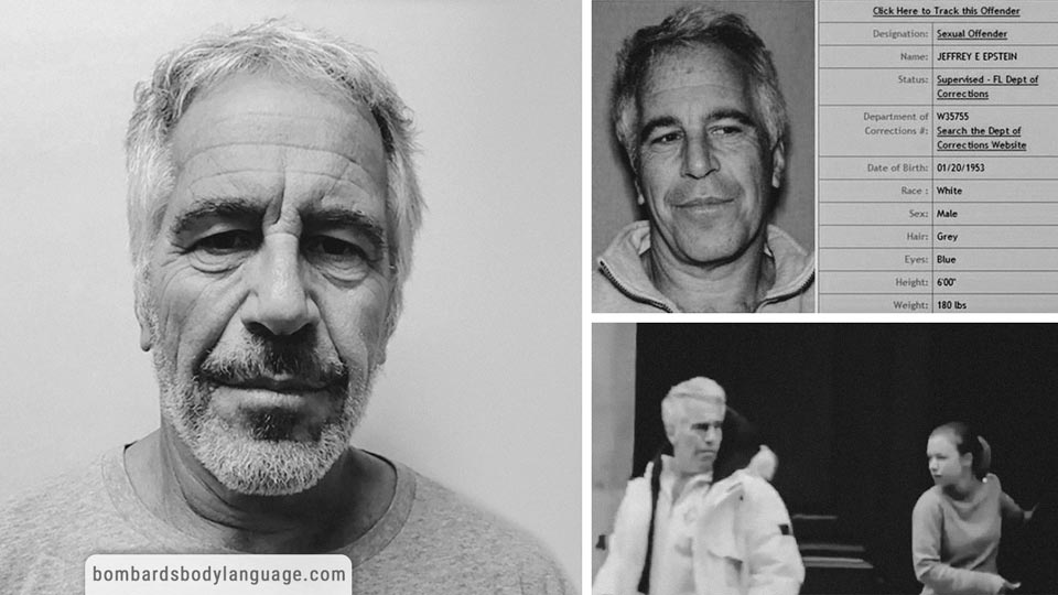 Body Language - Jeffrey Epstein