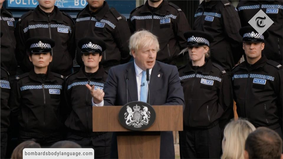 Body Language - Boris Johnson Brexit Extension