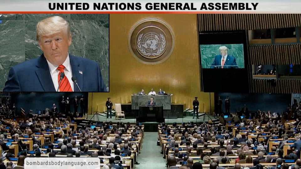 Body Language - Trump United Nations Assembly