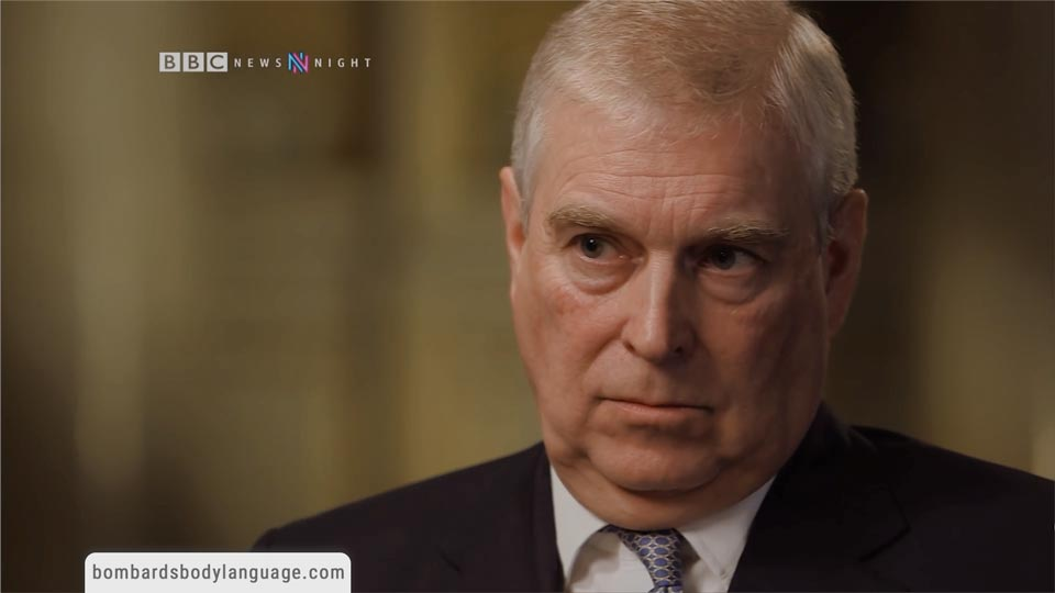 Body Language - Prince Andrew Interview