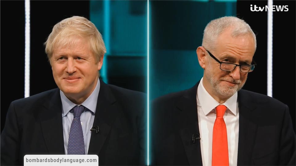 Body Language - Debates Boris Johnson Vs Jeremy Corbyn