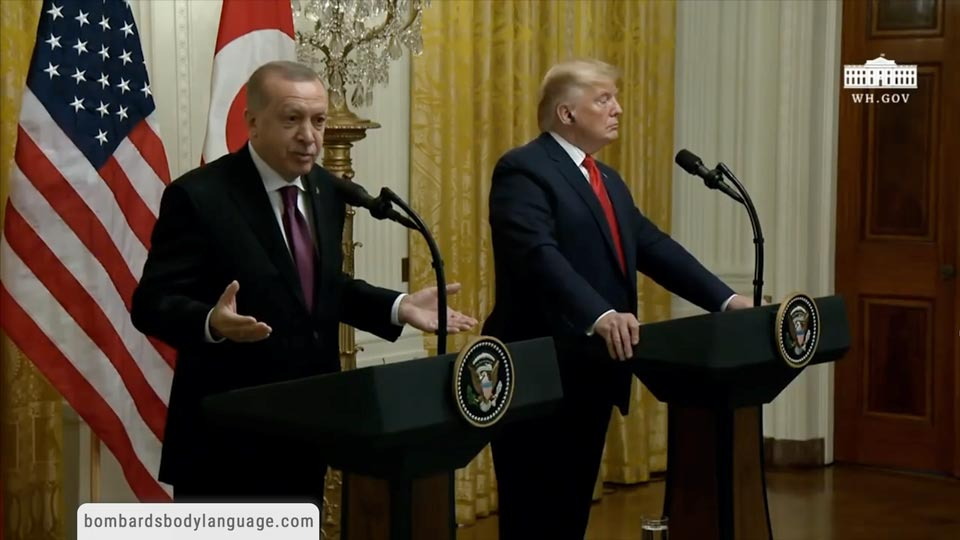Body Language - Trump, Erdogan Negotiations