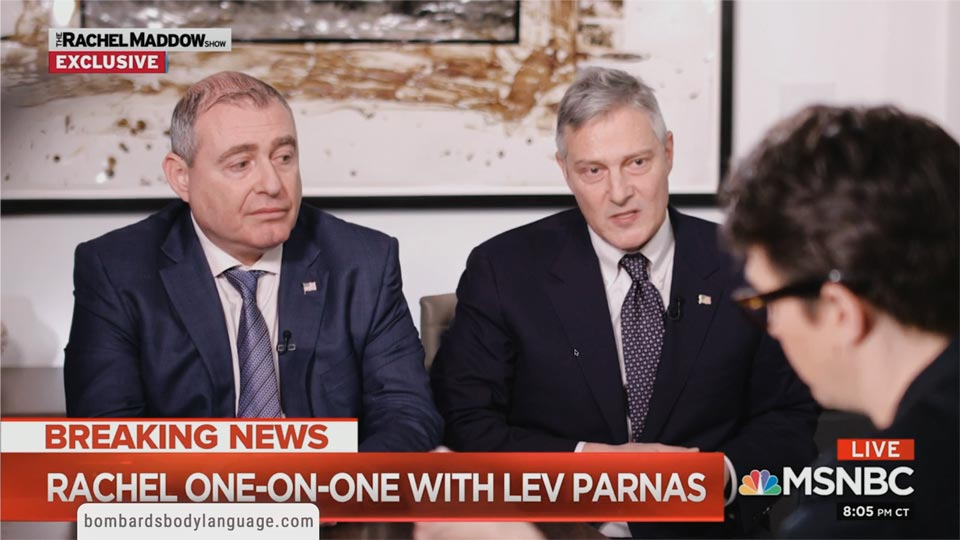 Body Language - Lev Parnas, Corruption & Ukraine