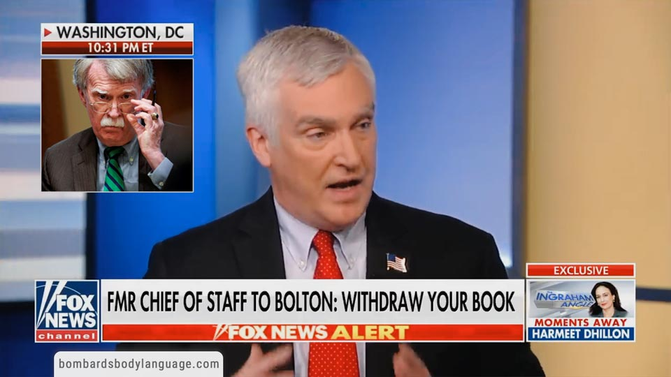 Body Language - Bolton Book Leak FMR Chief Of Staff