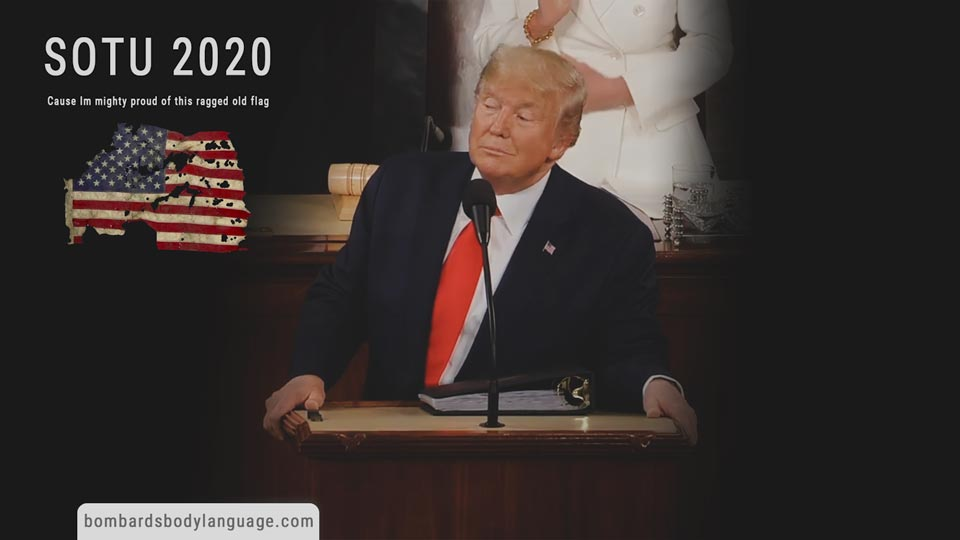 Body Language - President Trump SOTU 2020